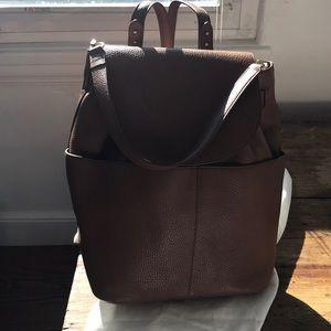 1de525db46 Cuyana Bags - Like NEW immaculate camel Cuyana Leather Backpack
